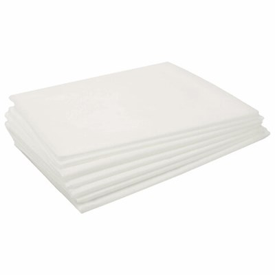Простыни одноразовые ЧИСТОВЬЕ нестерильные, КОМПЛЕКТ 20 шт., 80х200 см, СМС 18 г/м2, белые, 02-912 - фото 427043