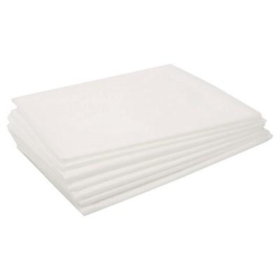 Простыни одноразовые ЧИСТОВЬЕ нестерильные, комплект 50 шт., 80х140 см, СМС 14 г/м2, белые, 01-674 - фото 427052
