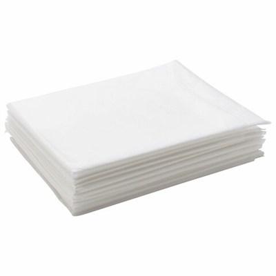 Простыни одноразовые ЧИСТОВЬЕ нестерильные, комплект 10 шт., 70х200 см, спанбонд ламинированный 42 г/м2, белые, 02-196 - фото 427072