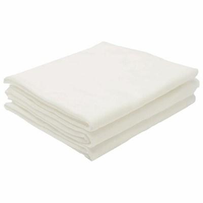 Простыни одноразовые ЧИСТОВЬЕ нестерильные, КОМПЛЕКТ 10 шт., 140х200 см, спанлейс 50 г/м2, белые, 00-023 - фото 427073