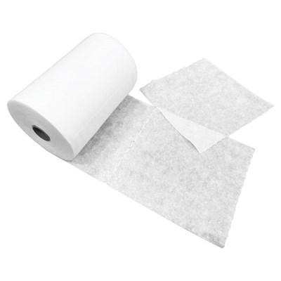 Салфетки одноразовые в рулоне ЧИСТОВЬЕ нестерильные 200 шт., 20х20 см, спанлейс 40 г/м2, белые, 601-744 - фото 427079