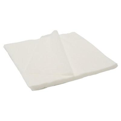 Салфетки одноразовые ЧИСТОВЬЕ нестерильные, комплект 100 шт., 20х20 см, спанлейс 40 г/м2, белые, 00-144 - фото 427081