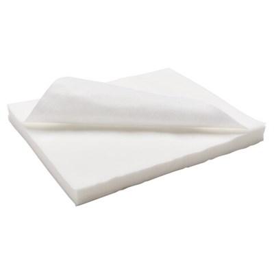 Салфетки одноразовые ЧИСТОВЬЕ нестерильные, комплект 100 шт., 25х30 см, спанлейс 40 г/м2, белые, 00-146 - фото 427082