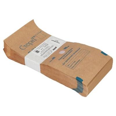 Пакет крафт самоклеящийся ВИНАР СТЕРИТ, комплект 100 шт., для ПАРОВОЙ/ВОЗДУШНОЙ стерилизации, 100х200 мм - фото 427351