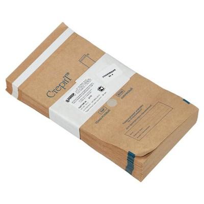 Пакет крафт самоклеящийся ВИНАР СТЕРИТ, комплект 100 шт., для ПАРОВОЙ/ВОЗДУШНОЙ стерилизации, 115х200 мм - фото 427361