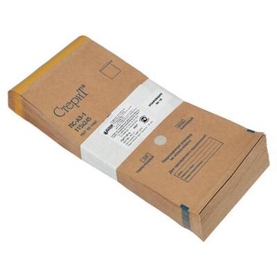 Пакет крафт самоклеящийся ВИНАР СТЕРИТ, комплект 100 шт., для ПАРОВОЙ/ВОЗДУШНОЙстерилизации, 115х245 мм - фото 427364