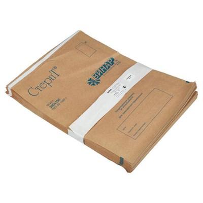 Пакет крафт самоклеящийся ВИНАР СТЕРИТ, комплект 100 шт., для ПАРОВОЙ/ВОЗДУШНОЙ стерилизации, 300х390 мм, 21 - фото 427389