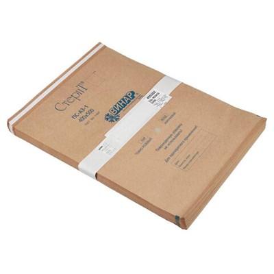 Пакет крафт самоклеящийся ВИНАР СТЕРИТ, комплект 100 шт., для ПАРОВОЙ/ВОЗДУШНОЙ стерилизации, 400х500 мм - фото 427398