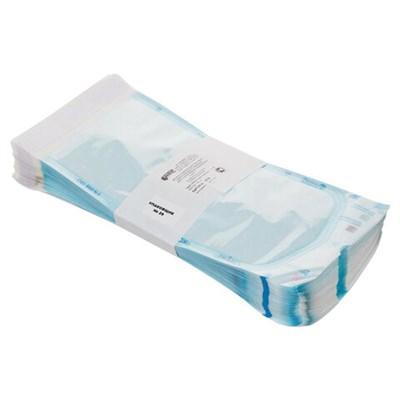 Пакет комбинированный самоклеящийся ВИНАР СТЕРИТ, комплект 100 шт., для ПАРОВОЙ/ГАЗОВОЙ стерилизации, 130х250 мм, 18 - фото 427441