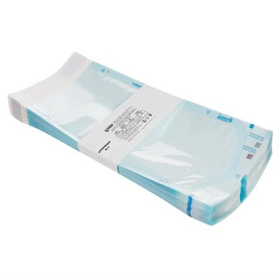 Пакет комбинированный самоклеящийся ВИНАР СТЕРИТ, комплект 100 шт., для ПАРОВОЙ/ГАЗОВОЙ стерилизации, 140х280 - фото 427465
