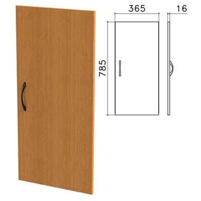 """Дверь ЛДСП низкая """"Фея"""", 365х16х785 мм, цвет орех милан, ДФ13.5 - фото 427726"""