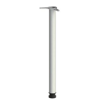 """Опора для столов приставных """"Монолит"""", длина регулируемая 740-760 мм, хром, ОМ03 - фото 427844"""