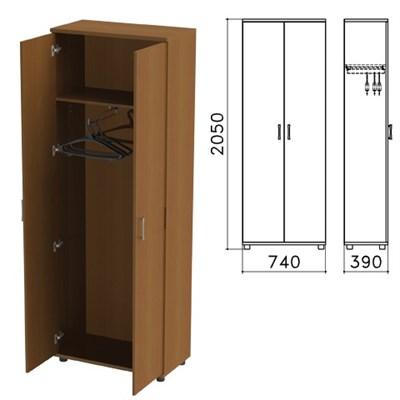 "Шкаф для одежды ""Монолит"", 740х390х2050 мм, цвет орех гварнери, ШМ49.3 - фото 427885"