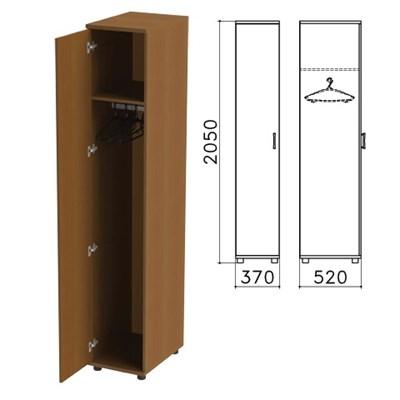 "Шкаф для одежды ""Монолит"", 370х520х2050 мм, цвет орех гварнери, ШМ52.3 - фото 427891"