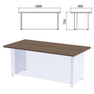 """Столешница стола письменного """"Приоритет"""", 1800х900х750 мм, гарбо, К-903, К-903 гарбо - фото 428019"""