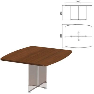 """Столешница базы стола для переговоров """"Приоритет"""", 1400х1200х750 мм, гарбо, К-911, К-911 гарбо - фото 428027"""