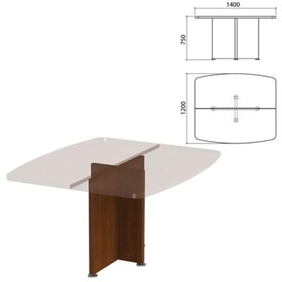 "Каркас базы стола для переговоров ""Приоритет"", 1400х1200х750 мм, гарбо, К-912, К-912 гарбо - фото 428028"