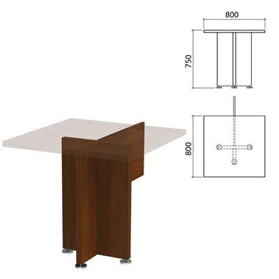 "Каркас стола приставного ""Приоритет"", 800х800х750 мм, гарбо, К-916, К-916 гарбо - фото 428033"