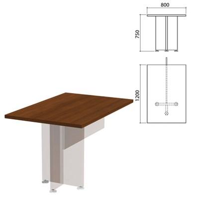 "Столешница стола приставного ""Приоритет"", 800х1200х750 мм, гарбо, К-917, К-917 гарбо - фото 428034"