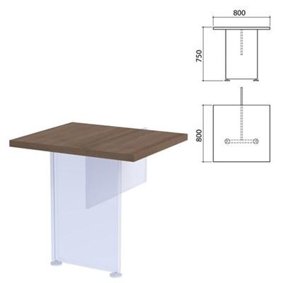 "Столешница модуля стола приставного ""Приоритет"", 800х800х750 мм, гарбо, К-919, К-919 гарбо - фото 428036"
