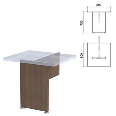 "Каркас модуля стола приставного ""Приоритет"", 800х800х750 мм, гарбо, К-920, К-920 гарбо - фото 428037"