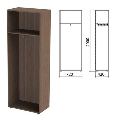 "Шкаф (каркас) для одежды ""Приоритет"", 720х420х2000 мм, гарбо, К-935, К-935 гарбо - фото 428049"