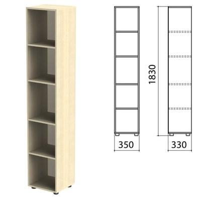"Шкаф (стеллаж) ""Канц"" 350х330х1830 мм, 4 полки, цвет дуб молочный, КК32.15 - фото 428131"