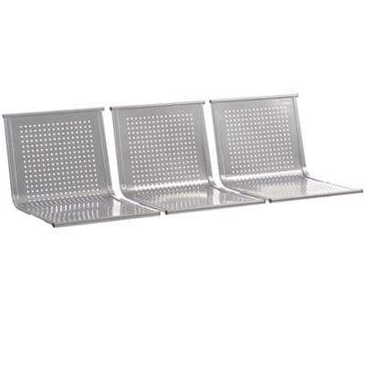 """Сиденья для кресла """"Стайл"""", комплект 3 шт., цвет серебристый - фото 428185"""