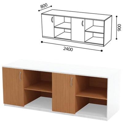 Стол (ПАКЕТ 2) для кабинета физики, 2400х800х900 мм, ЛДСП бук/пластик - фото 428270