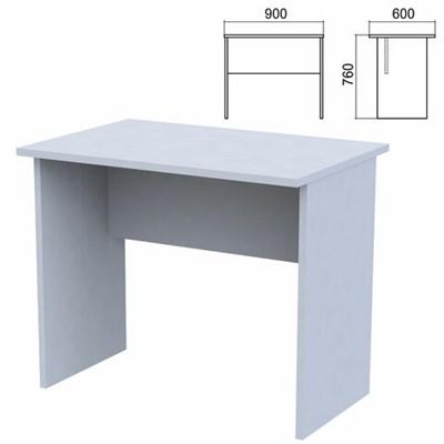 """Стол письменный """"Арго"""", 900х600х760 мм, серый - фото 428328"""