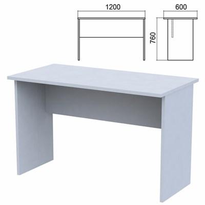 """Стол письменный """"Арго"""", 1200х600х760 мм, серый - фото 428333"""
