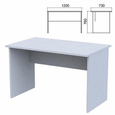 """Стол письменный """"Арго"""", 1200х730х760 мм, серый - фото 428343"""
