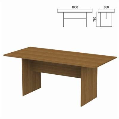 """Стол для переговоров """"Арго"""", 1800х850х760 мм, орех - фото 428362"""