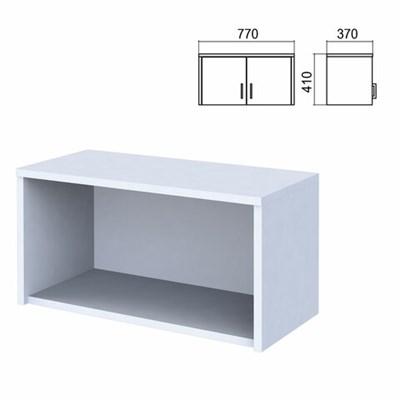 "Шкаф-антресоль ""Арго"", 770х370х410 мм, серый - фото 428484"