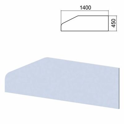 """Экран-перегородка к столам """"Арго"""", шириной 1400 мм, серый - фото 462568"""
