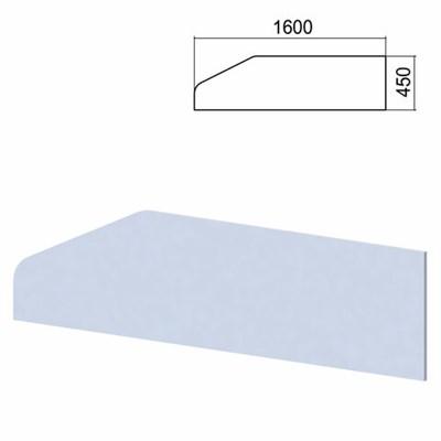 """Экран-перегородка к столам """"Арго"""", шириной 1600 мм, серый - фото 462573"""