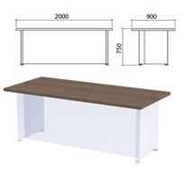 """Столешница стола письменного """"Приоритет"""", 2000х900х750 мм, гарбо, К-905, К-905 гарбо"""