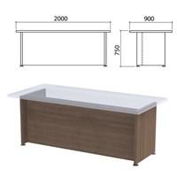 "Каркас стола письменного ""Приоритет"", 2000х900х750 мм, гарбо, К-906, К-906 гарбо"