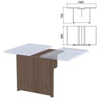 """Каркас модуля стола для переговоров """"Приоритет"""", 1400х900х750 мм, гарбо, К-914, К-914 гарбо"""