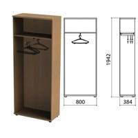 "Шкаф (каркас) для одежды ""Этюд"", 800х384х1942 мм, онтарио160, 400001-160"